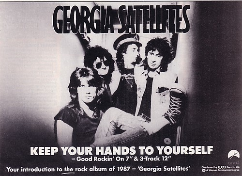 The Georgia Satellites – Keep Your Hands ToYourself