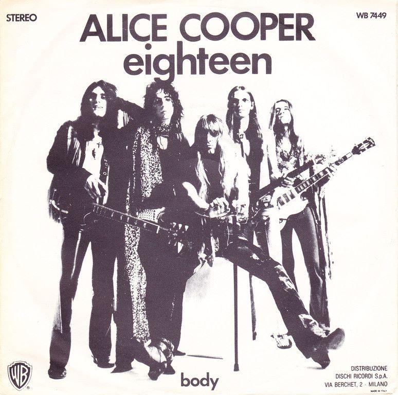 Alice Cooper –Eighteen