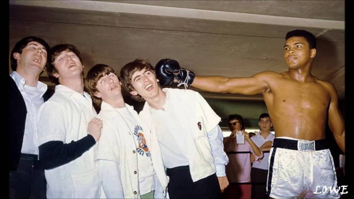 Muhammad Ali and reuniting the Beatles