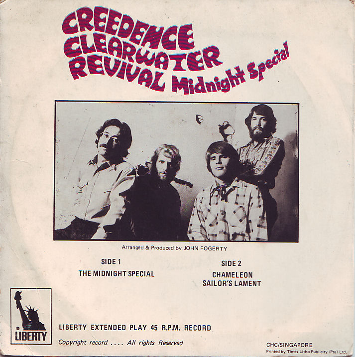 Creedence Clearwater Revival – MidnightSpecial