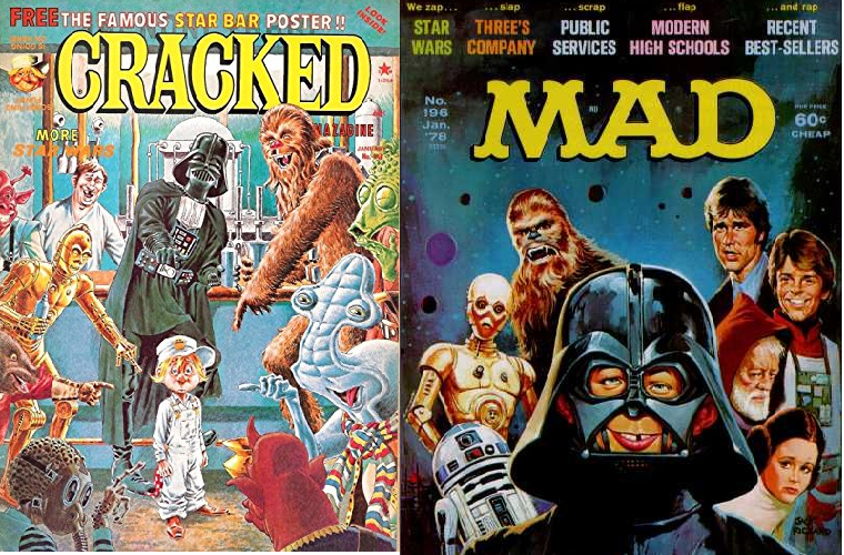 Mad and Cracked Magazine…a quick look