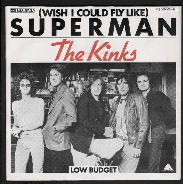 Kinks – (Wish I Could Fly Like) Superman