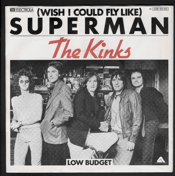 Kinks – (Wish I Could Fly Like)Superman