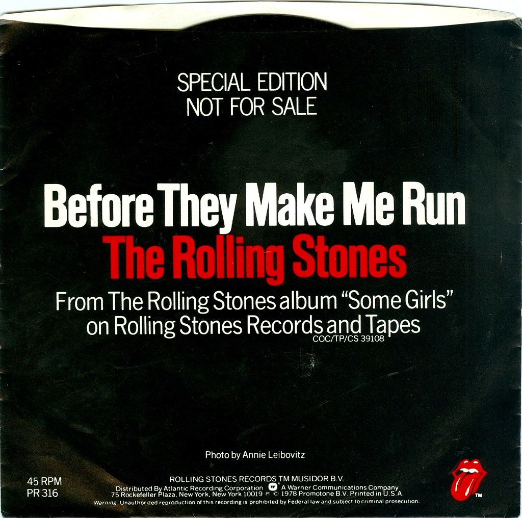 Rolling Stones – Before They Make Me Run