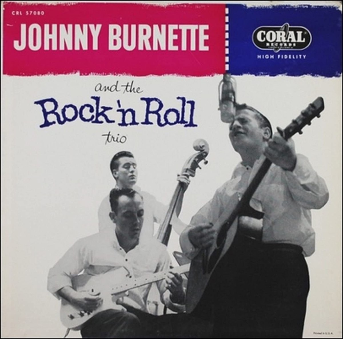 Johnny Burnette Trio-Train Kept A Rollin'