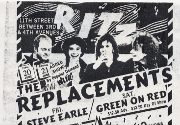 The Replacements at The Ritz (06-20-1986) — The Mckenzie Tapes