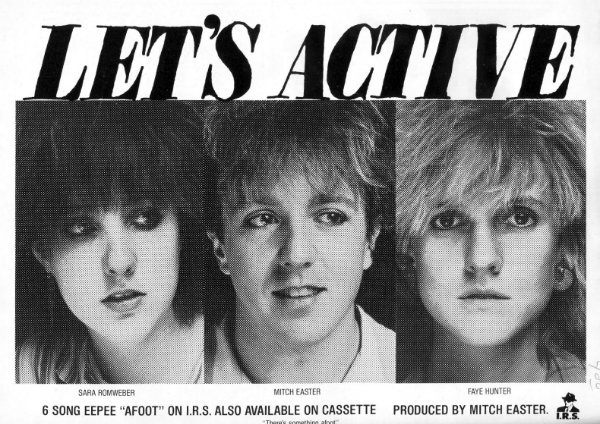 Let's Active – Every Word Means No…. Power PopFriday