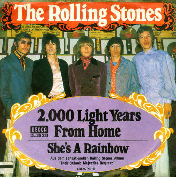 Rolling Stones – 2000 Light Years FromHome