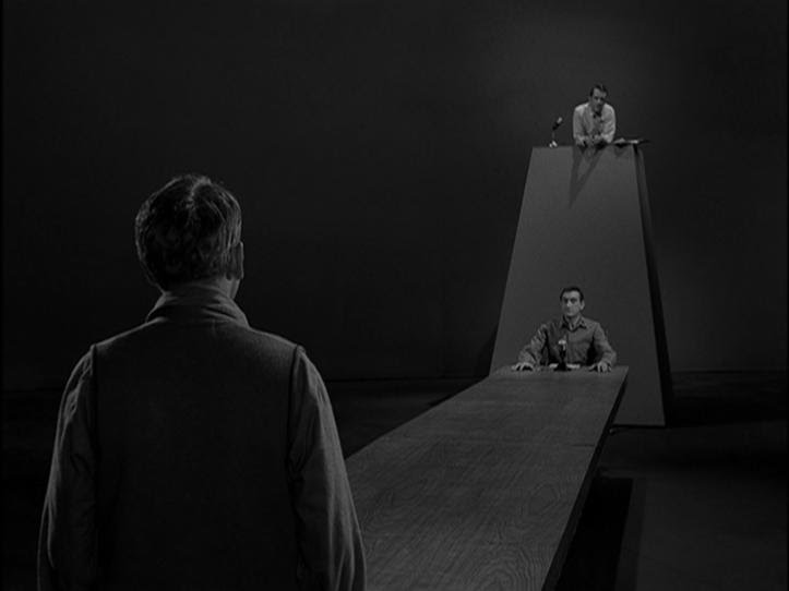 """My Life in the Shadow of The Twilight Zone: TZ Promo: """"The Obsolete Man""""  (6/02/1961)"""